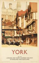 FRED TAYLOR (1875-1963). YORK. Circa 1930. 39x24 inches, 101x63 cm. Vincent Brooks Day & Son, Ltd., London.