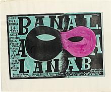 ALEXEY BRODOVITCH (1898-1971). BAL BANAL. 1924. 22x26 inches, 56x66 cm.