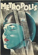 WERNER GRAUL (1905-1984). METROPOLIS. Magazine. 1927. 9x6 inches, 23x16 cm.