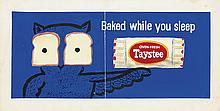 RAYMOND SAVIGNAC (1907-2002). TASTEE BREAD / BAKED WHILE YOU SLEEP. Group of 39 gouache studies. Circa 1950s. Sizes vary.