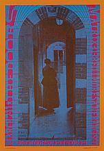 VARIOUS ARTISTS. [PSYCHEDELIC POSTERS.] Group of 5 posters. 1967-1968. Sizes vary.