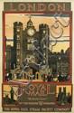 KENNETH DENTON SHOESMITH (1890-1939). LONDON / ROYAL MAIL. Circa 1921. 40x25 inches, 101x63 cm.