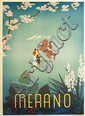 SERGIO FRANCISCONE (1912-?). MERANO. 1936. 39x27 inches, 100x70 cm, Coen & Co., Milan.