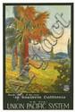 M. GUNDLACH (DATES UNKNOWN). SOUTHERN CALIFORNIA / GO VIA - UNION PACIFIC SYSTEM. Circa 1920. 42x28 inches, 108x71 cm.
