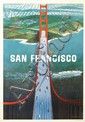 HOWARD KOSLOW (1924- ). SAN FRANCISCO. 1964. 37x25 inches, 96x64 cm. Penn Prints, New York.