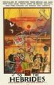 TOM GILFILLAN (1932-1953). TO THE HEBRIDES. Circa 1930. 39x24 inches, 100x63 cm. John Horn Ltd., Glasgow.