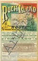 A.T. SEARS (DATES UNKNOWN). ROCK ISLAND ROUTE CHICAGO / ROCK ISLAND & PACIFIC R'Y. Circa 1880. 22x13 inches, 56x35 cm. Cameron, Amberg
