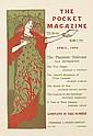LOUIS J. RHEAD (1858-1926). THE POCKET MAGAZINE / APRIL 1896. 17x12 inches, 44x30 cm. Frederick A. Stokes Company, New York.