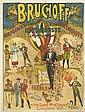 DESIGNER UNKNOWN. BRUCHOFF. Circa 1890s. 30x23 inches, 78x58 cm. Affiches Ed. Maquis, Paris.