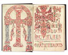 LITURGY, CATHOLIC.  Sacramentarium Gelasianum.  2 vols.  1975.  With signed inscription from Pope Paul VI to John Cardinal Krol.