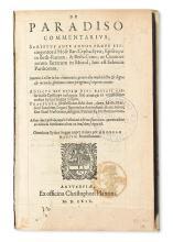 MOSES BAR KEPHA. De paradiso commentarius.  1569