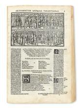 TERENTIUS AFER, PUBLIUS. Comoediae.  1524