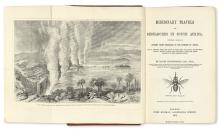 TRAVEL  LIVINGSTONE, DAVID. Missionary Travels and Researches in South Africa.  1857