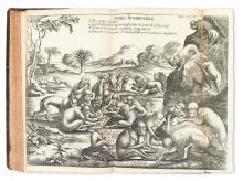 TRAVEL  LUDOLF, HIOB.  Bound volume containing 4 works.  1691-94-91-81