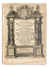 TRAVEL  RICCI, MATTEO, S.J.; and TRIGAULT, NICOLAS, S.J. Entrata nella China de' Padri della Compagnia del Gesu.  1622