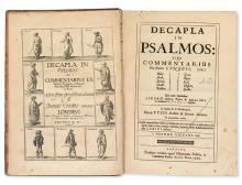 VICCARS, JOHN. Decapla in Psalmos.  1655