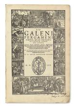 GALENUS, CLAUDIUS. Omnia, quae extant.  12 parts in 3 volumes.  1561-62