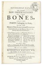 HAVERS, CLOPTON. Osteologia Nova; or, Some New Observations of the Bones, and the Parts belonging to them . . . Second Edition.  1729