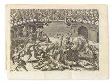 MERCURIALE, GIROLAMO. De arte gymnastica libri sex . . . editio novissima.  1672