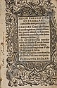 AESOP.  1518  Aesopi Phrygis vita et fabellae [and other texts].