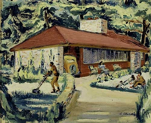 CLAUDE CLARK (1915 - 2001) The Turner's House.