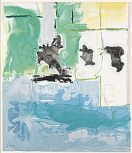 HELEN FRANKENTHALER West Wind.