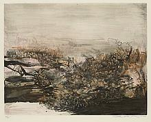 ZAO WOU-KI Untitled (Spring Marshes).