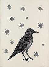 KIKI SMITH Bird with Stars.