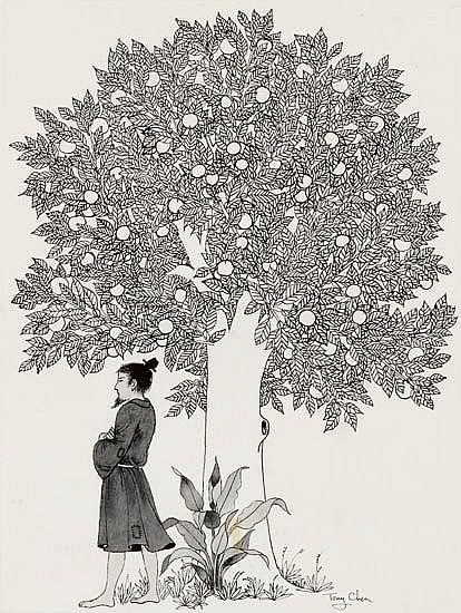 TONY CHEN. The Mandarin and the Pomegranate Tree.