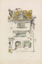 JAMES A. M. WHISTLER Yellow House, Lannion.