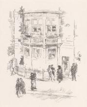 JAMES A. M. WHISTLER Three lithographs.