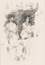 JAMES A. M. WHISTLER Three lithographs.