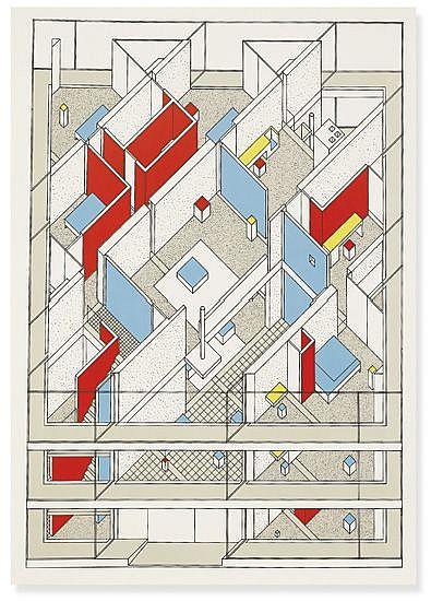 (ARCHITECTURE.) Hejduk, John. Three Projects.
