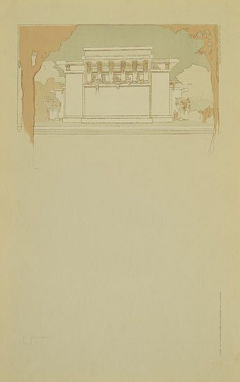 (ARCHITECTURE.) Wright, Frank Lloyd. Ausgeführte Bauten und Entwürfe.