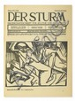 (GERMAN EXPRESSIONISM.) Walden, Herwarth; editor. Der Sturm.