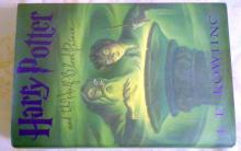 Harry Potter and the Half Blood Prince JK Rowling hardcover Book