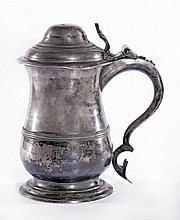 A George III silver tankard, by John Payne, London