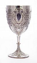 A Victorian silver trophy, by John Aldwinckle and