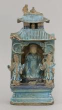 A stoneware Shrine