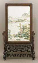 A porcelain Plaque