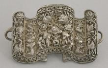 A Chinese silver Buckle
