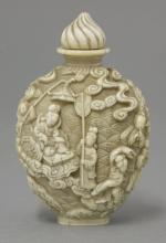 An ivory Snuff Bottle