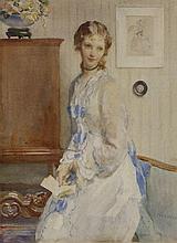 *Walter Ernest Webster (1878-1959)  'THE LOVE LETTER'  Signed l.r., inscribed with title ver
