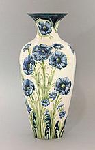 A Moorcroft Macintyre & Co. 'Florian Ware' vase,