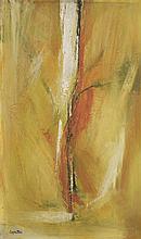 *Trewin Copplestone (b.1921)  'TREE', 1957  Signed, oil on board