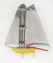 A Bunting yacht heater,   repainted,   74.5cm high