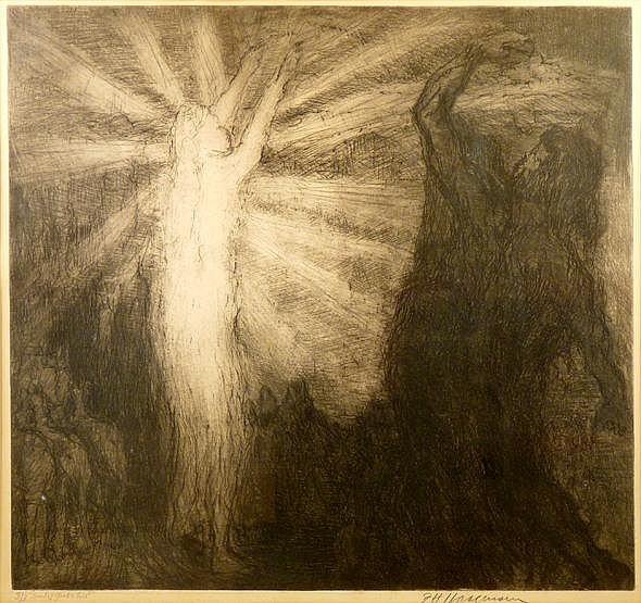 *Frederick Hans Haagensen (1877-1943) 'SPIRIT OF