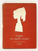 PICASSO:Leiris, Michele: Picasso and the Human Comedy,A Suite of 180 drawings by Picasso.  Novembe