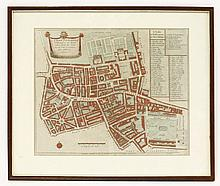 'A mapp of the Parish of St Giles's in the Fields taken from the last servey with corrections and ad