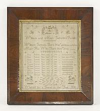 A memorial sampler,